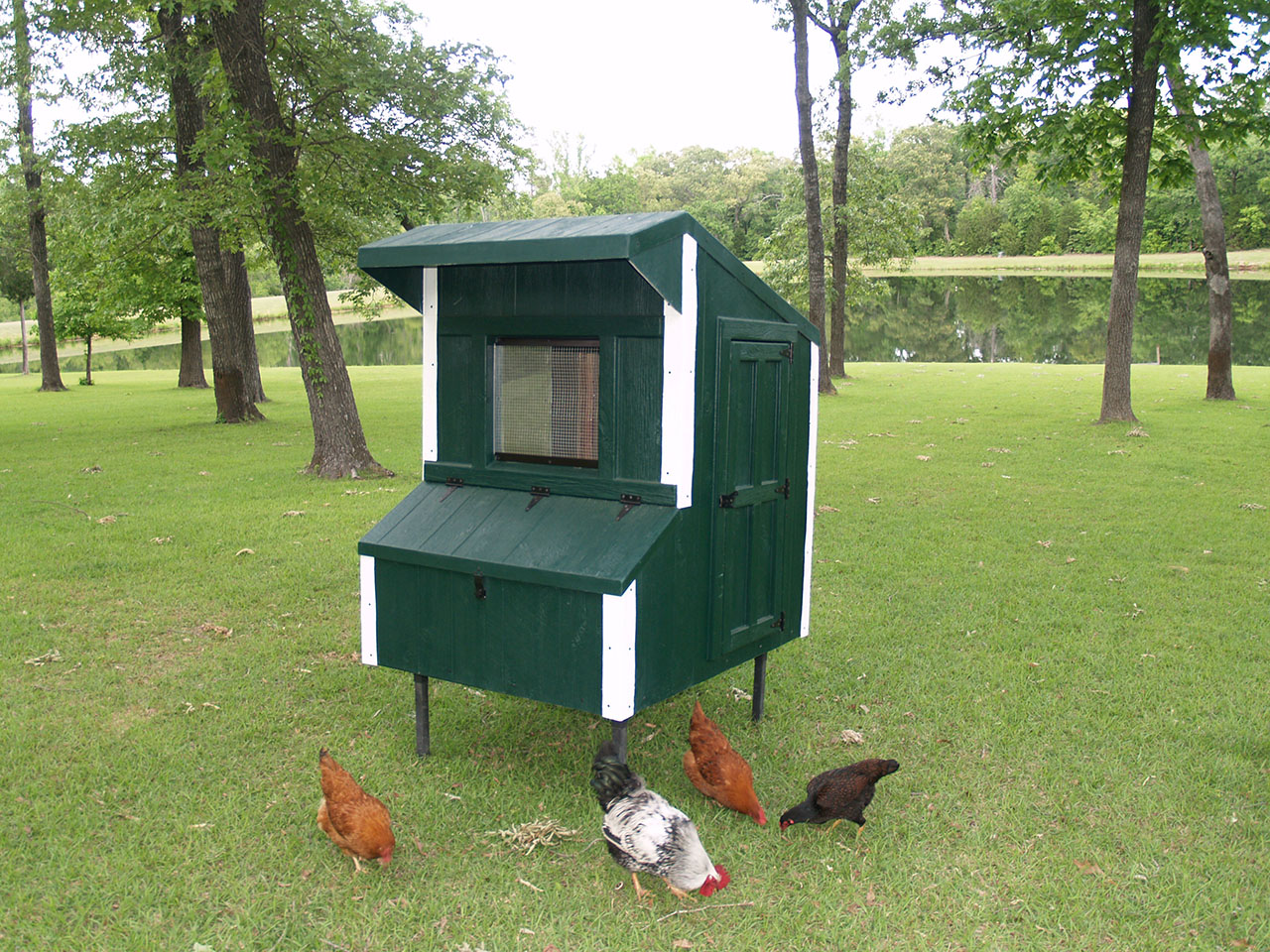 Eggstreme Chicken Coops 5 X 4 Traditional Fiberglass