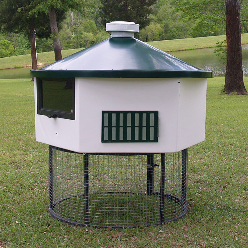 Geo Hex4 Chicken Coop
