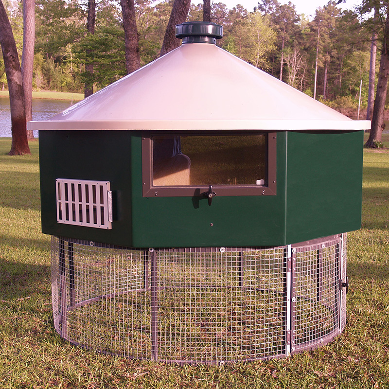 Geo Octo6 chicken coop