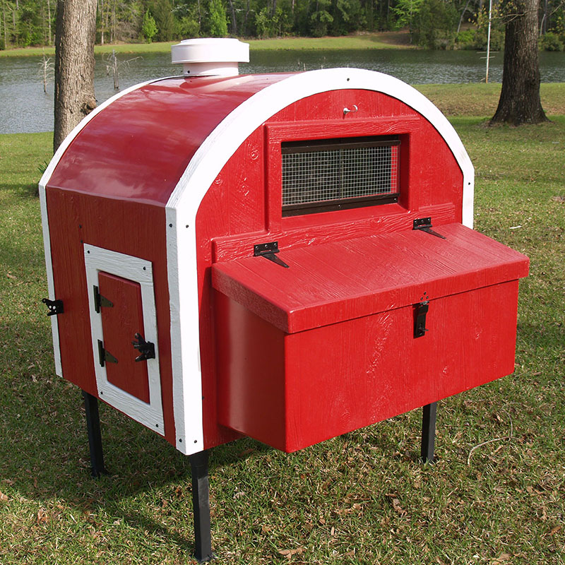 Quonset Hut 4x4 Chicken Coop