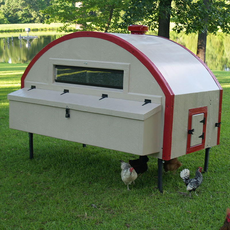 Quonset Hut 5x6 Chicken Coop